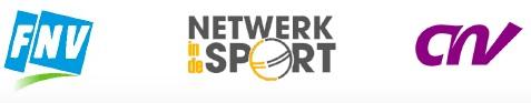 Logo's FNV NetwerkindeSport en CNV